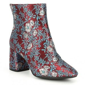 Gianni Bini Catalano Floral Brocade Boots